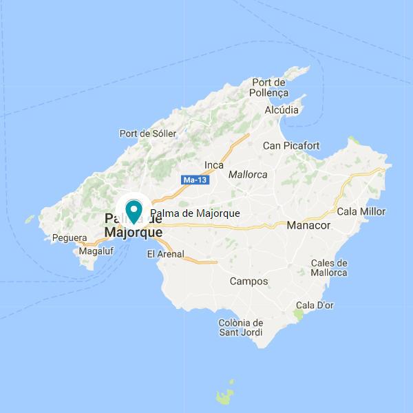 carte de palma de majorque Carte Palma de Majorque   Vacances Adaptées