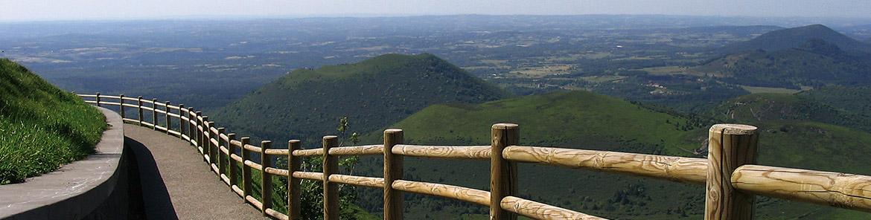 Auvergne, Échandelys, séjour Terre de Traditions