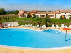 Piscine, Villa Homps